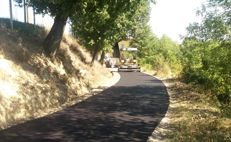 Realizzazione di strade e reti stradali