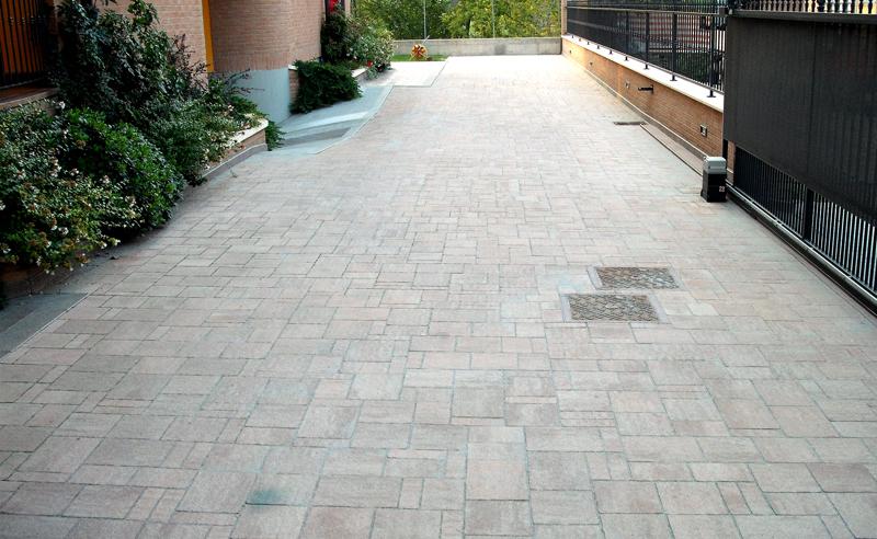 Pavimentazioni corili e aree cortilive