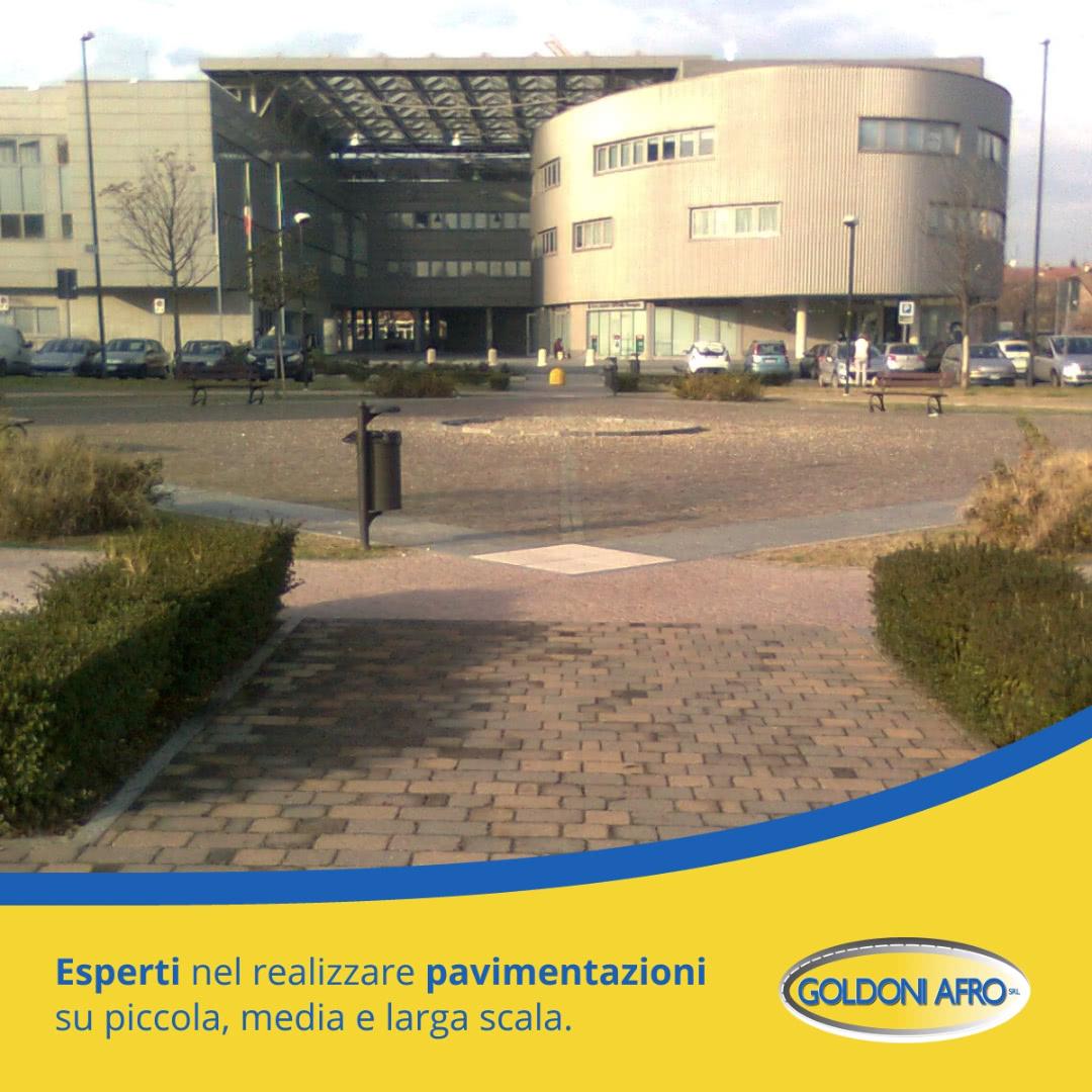 Realizzazione e manutenzione di Pavimenti, Piazzali e Aree cortilive per aziende